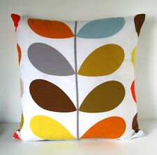 Copricuscino made in Orla Kiely Multi Stelo Trapunta in tessuto SUB by Retrò midcentury
