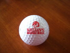 LOGO GOLF BALL-KILLIAN'S IRISH RED BEER. HORSE LOGO.RED