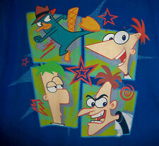Disney Phineas & Ferb  T Shirt Youth Large
