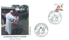Brazil 1991 Jan Pawel II papież John Paul Pope Papa Papst Giovani Paolo (91/11)