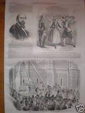 Signor Beneventano Mdlle Piccolomini prints 1856