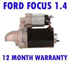 Ford focus 1.4 1.6 starter motor 1998 1999 2000 2001 2002 - 2004 full warranty