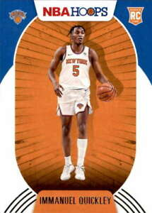 2020-21 Panini Hoops #249 IMMANUEL QUICKLEY RC Rookie New York Knicks