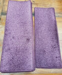 8.5	x	24	inches	(	22	x	61	cm) 12x STAIR PADS / TREADS PURPLE #347