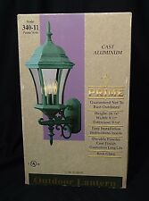 "PAIR OF ""TSI PRIME"" OUTDOOR LANTERNS -- WALL LIGHTS --24"" TALL -- NEW IN THE BOX"