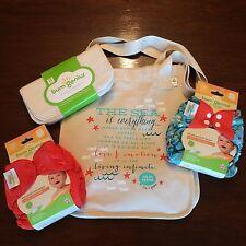 Bumgenius Goodie Bag Lot W/ Wipes Jules & Sassy Elemental Cloth Diapers