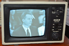 Silelis TB16 403D|Rare Vintage|work|USSR|Mini TV|Original box|Instructions
