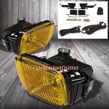 Amber Lens Housing Driving/Bumper Fog Light+Kit For Honda 96-98 Civic EJ/EK/EM