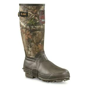New Guide Gear Men's 15  Insulated Rubber Boots, 400-grams Sizes 8-13 Realtree