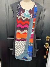 NWT  Desigual Dress Size XL Boho Retro ECU New@139