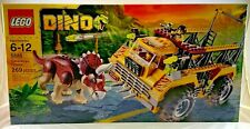 NEW SEALED 5885 LEGO Dino TRICERATOPS TRAPPER Dinosaur Vehicle 269 pc set RETIRE