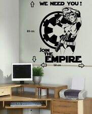 Star Wars Storm Trooper Sexy Women Adult Bedroom Decor Vinyl Wall Sticker Decal