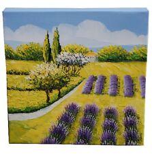 Campi di lavanda tela ~ dipinta a mano & Beautiful ~ renderebbe il regalo perfetto!!!