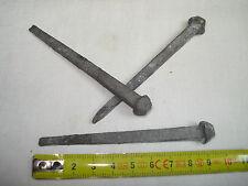 13 clous carrés CARVELLE  90 mm en acier galvanisé