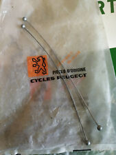 N.O.S paire de cable frein VELO  PEUGEOT MOTOBECANE old french bike