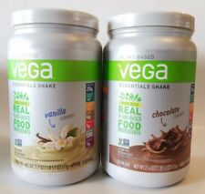Vega Essentials Plant Based Protein Shake Chocolate/Vanilla 20g Protein BB 12/20