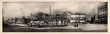 1909 Spartanburg SC South Carolina Vintage Panoramic Photograph Panorama 22""