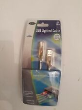 Belkin USB Lighted Cable (clear )6 ft. 1.8m