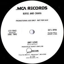 "Rufus And Chaka Khan – Any Love - Vinyl, 12"""