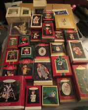 Hallmark Various Ornaments and Collector Series 28 Pieces