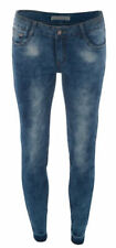 Stonewashed Damen-Jeans im Jeggings -/Stretch-Stil mit 36 Hosengröße
