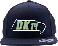 Seattle Seahawks DK Metcalf Logo Snapback Hat