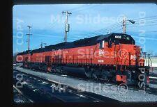 Original Slide B&LE Bessemer & Lake Erie SD45T-2U 906 & 2 More Greenville PA