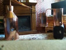 12 Gallon Copper Moonshine Still / copper condensing can Thump Keg Ron