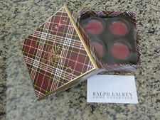 RALPH LAUREN Candle Holiday Decor Set of 4 Votive Scented Classic Candle