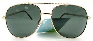 Foster Grant Men's Fashion Sunglasses Color Frame Gold Metal
