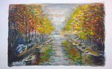 Orange Landscape Original Art Paintings