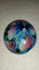 Beautiful Wireless Cloisonne Enamel Flower Pin or Pendant