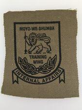 Rhodesia/Rhodesian Training Wing International Affairs Cloth Patch