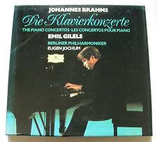 BRAHMS die klavierkonzerte JOCHUM GILELS 2LP BOX 1972 DG 2707 064