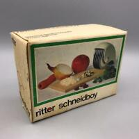 Vintage Ritter Schneidboy Mincer Empty Box Packaging Advertising