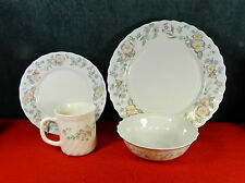 """20-PIECES OF ARCOPAL FRANCE """"CHAMPETRE"""" PATTERN CHINA/DINNERWARE"""