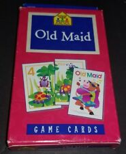 """Old Maid School Zone Game Cards Age 4 & up 5.5"""" x3.5"""" Math/Numbers 100% Complete"""