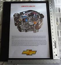 Corvette LT4 Z06 David Kimble 18x12 engine highly detailed