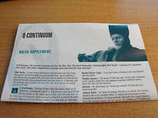 STAR TREK CCG Q-CONTINUUM RULES SUPPLEMENT