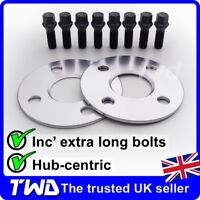 5MM ALLOY WHEEL SPACERS + BOLTS FOR MINI R56 R57 R58 (4X100 PCD 56.1MM) -2E8K32