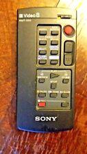 Control remoto videocámara Sony ~ Modelo no. RMT-500