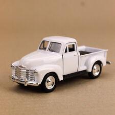 1953 Classic Chevrolet 3100 Pick-Up Ute White Die-Cast Model Car 12cm Pull-Back