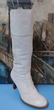 White Aldo Womens High Boots Size 6.5