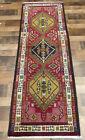 "2'3""x6'3"" Authentic Excellent Dense Fine handmade wool Oriental area rug runner"