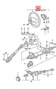 Genuine PORSCHE 911 Boxster Steering Wheel Savannah Beige 99634780454S40