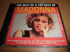 Early Years MADONNA best of rest Vol 2 CD time to dance WILD DANCING on street
