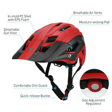 Casco Bici Mountain MTB Strada Bicicletta Corsa Ciclismo Regolabile IT C0V2