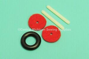 Plastic Press In Spool Pin Kit Fits Singer Models 401, 401A, 403, 403A, 404