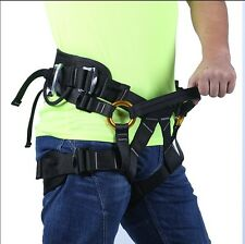 Bust Safety Belt Rock Climbing Tree Surgeon Rappelling Equip Harness Seat Belt