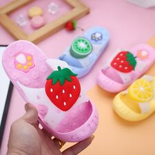 Toddler Children Kids Baby Girls Boys Cute Fruit Paw Beach Slipper Sandals Shoes